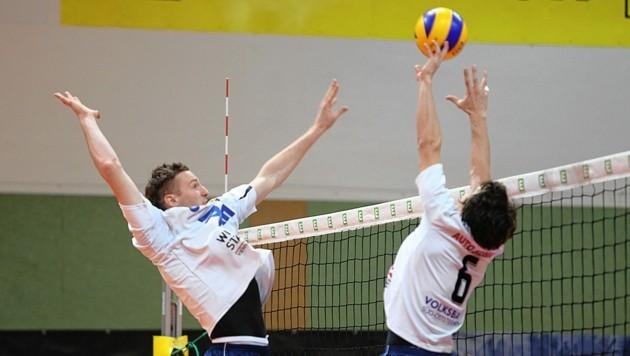 Vor fünf Jahren stieg Hartberg freiwillig aus der Volleyball-Bundesliga ab. (Bild: KRONEN ZEITUNG)