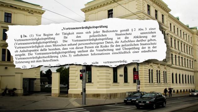 (Bild: Andi Schiel, bmi.gv.at, krone.at-Grafik)