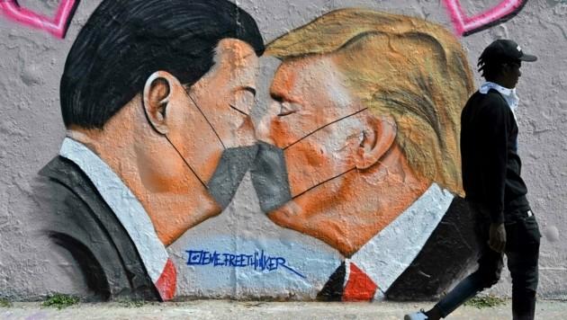 Die Beziehungen zwischen den USA und China sind zunehmend angespannt. (Bild: AFP)