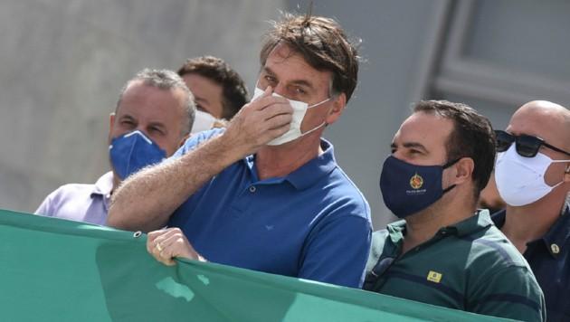 Brasiliens Präsident Jair Bolsonaro (Bild: AP)