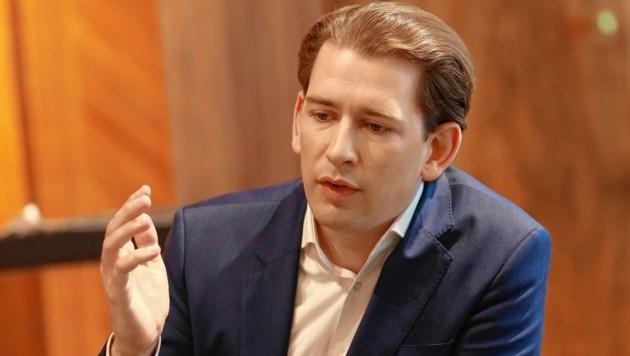 Bundeskanzler Sebastian Kurz (ÖVP) (Bild: Zwefo)