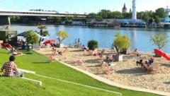 Der CopaBeach ist der neueste Zugang im Reich der freien Wiener Badeplätze. (Bild: PID/Fürthner)
