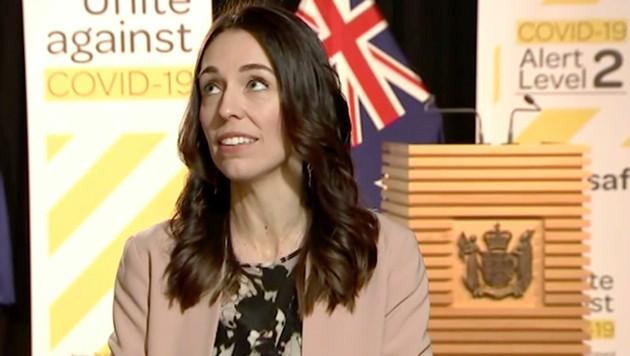 Neuseelands Premierministerin Jacinda Ardern (Bild: AP)