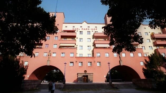 Der Wiener Gemeindebau Karl-Marx-Hof (Bild: APA/BARBARA GINDL)