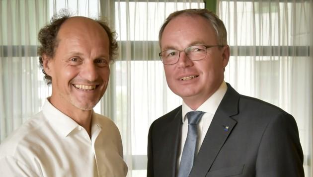 Andreas Klöbl und Stephan Pernkopf (Bild: zVg)