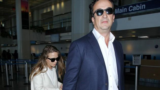 Mary Kate Olsen und Olivier Sarkozy (Bild: www.viennareport.at)