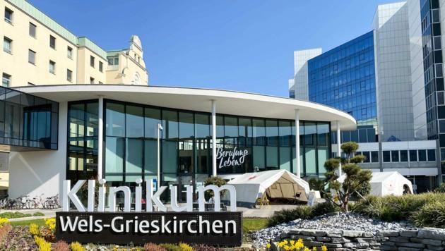 Klinikum Wels Grieskirchen (Bild: Markus Wenzel)