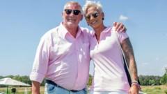 Heinz Hoenig und Ehefrau Annika Kärsten-Hoenig (Bild: Defrance / Action Press / picturedesk.com)