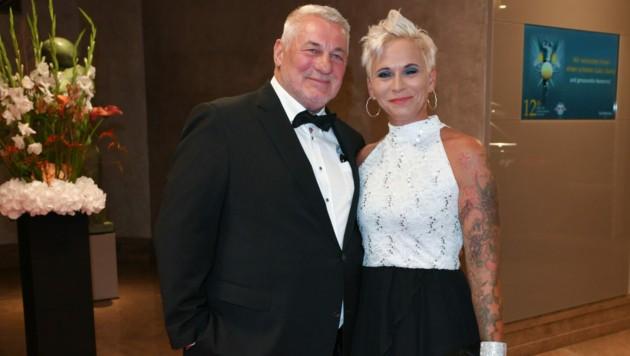 Heinz Hoenig und Ehefrau Annika Kärsten-Hoenig