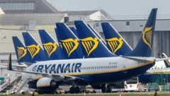 Europas größter Billigflieger meldet für Juli mehr als 50 Prozent Auslastung der Flüge. (Bild: AFP)