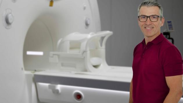 Radiologe Dr. Erich Hübner (Bild: ANDREAS TROESTER, zVg)