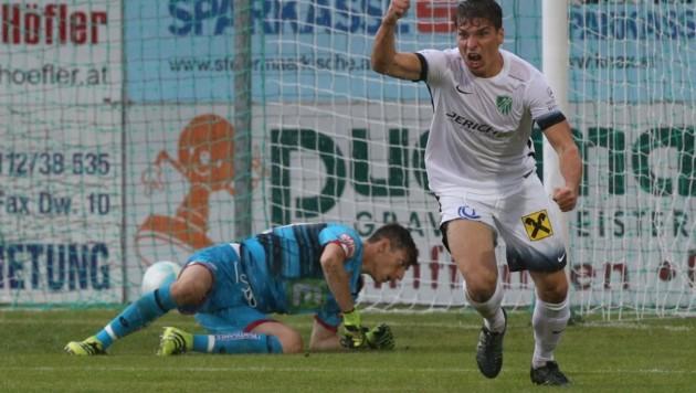 Goalie-Schreck David Gräfischer wird nicht mehr in Gleisdorf auf Torjagd gehen. (Bild: Sepp Pail)