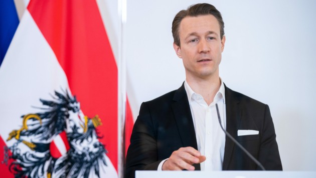 Finanzminister Gernot Blümel (Bild: APA/GEORG HOCHMUTH)