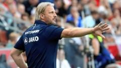 Hartberg-Trainer Markus Schopp erklärt, was er sich vom Liga-Neustart erwartet (Bild: Kronen Zeitung)