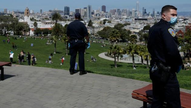 Die Polizei in San Francisco verhaftete den Mörder des gebürtigen Österreichers Leo H., der nach dem Zweiten Weltkrieg in die USA auswanderte. (Bild: AP)