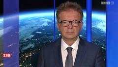 """Gesundheitsminister Rudolf Anschober (Grüne) im """"ZiB 2""""-Interview am Donnerstagabend. (Bild: Screenshot/ORF)"""