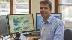 Michael Butschek, Meteorologe der ZAMG Salzburg (Bild: heikomandl.at/ZAMG)