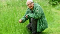 Martin Schwarz vom Naturschutzbund OÖ weiß, dass sich Zecken auf langen Grashalmen oder in Sträuchern verstecken. (Bild: Dostal Harald)