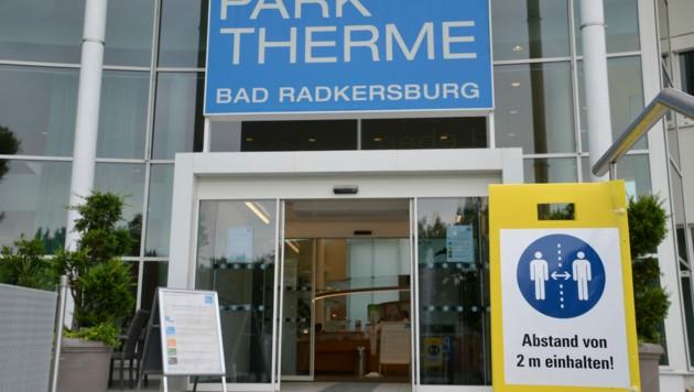 Parktherme Bad Radkersburg (Bild: Heinz Weeber)