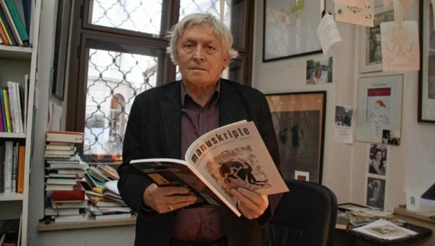 Alfred Kolleritsch (Bild: Christian Jauschowetz)