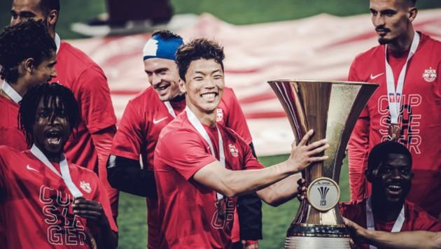 (Bild: twitter/FC Red Bull Salzburg)