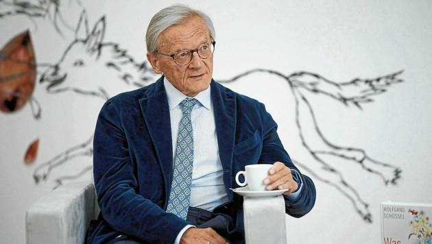 """Ex-Bundeskanzler Wolfgang Schüssel (ÖVP) sprach mit der """"Krone"""" über seine Erinnerungen an 9/11. (Bild: Reinhard Holl)"""