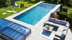 Der Traum vom eigenen Pool ist groß - das fordert die Branche. (Bild: Delfin Wellness/Eder)