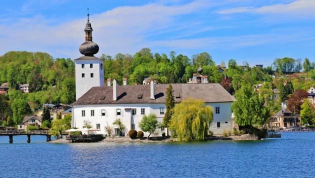 Vorfahren des Pleite-Grafen waren Besitzer des Schlosses Orth in Gmunden (Bild: Reinhard Hörmandinger)