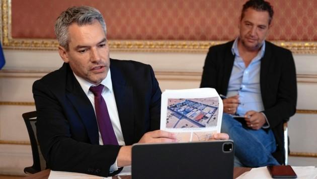 Premiere im Innenministerium: Die erste transnationale Online-Pressekonferenz
