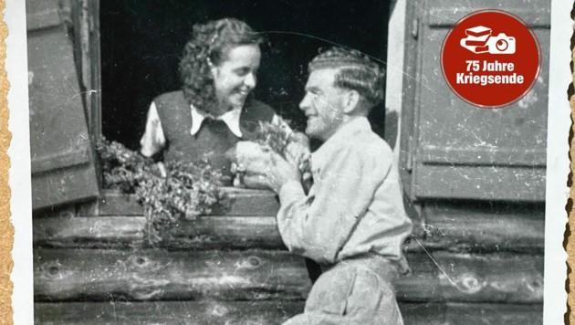 Mutter Inge aus Kärnten und Vater Arthur aus Großbritannien haben einander nach dem Zweiten Weltkrieg kennen gelernt. (Bild: Steiner Clara Milena)