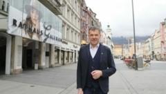 Bürgermeister Georg Willi von den Grünen. (Bild: Birbaumer Christof)