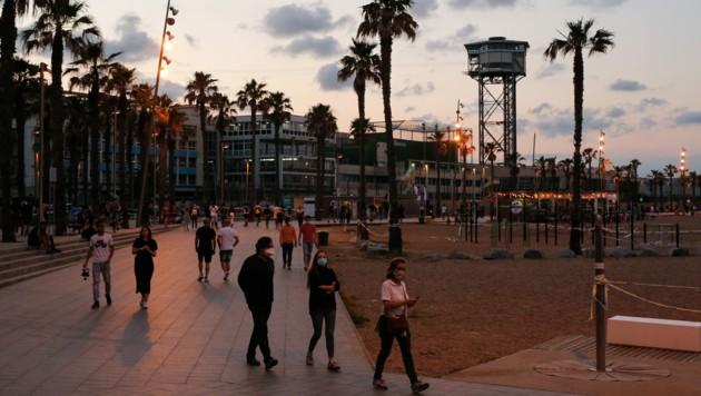 Ab dem 1. Juli will Spanien die Einreise für Touristen ohne verpflichtende zweiwöchige Quarantäne ermöglichen. (Bild: AFP)