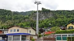 Baustelle Zwölferhorn Seilbahn  St Gilgen (Bild: Hörmandinger)