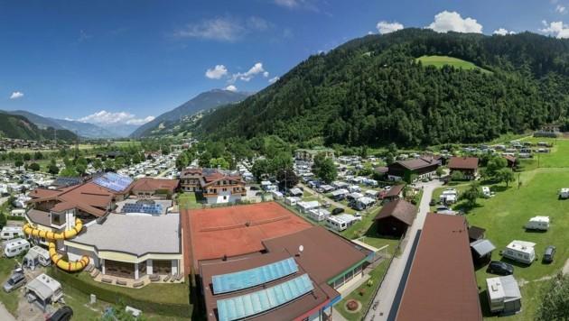 Caming Aufenfeld im Zillertal (Bild: Camping Aufenfeld)