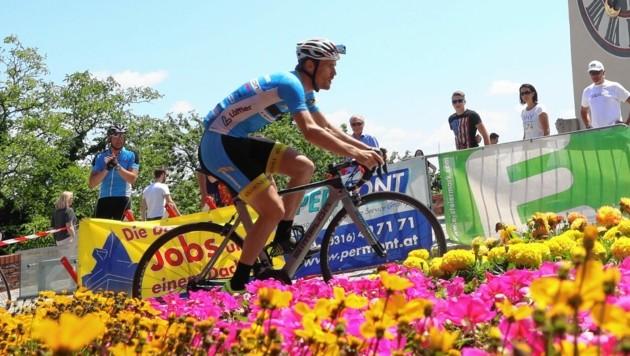 Könnte bei der neuen Zeitfahren-Serie des Radsportverbandes ab Juli auch mitfahren: Der Grazer Radprofi Stephan Rabitsch. (Bild: sepp pail)