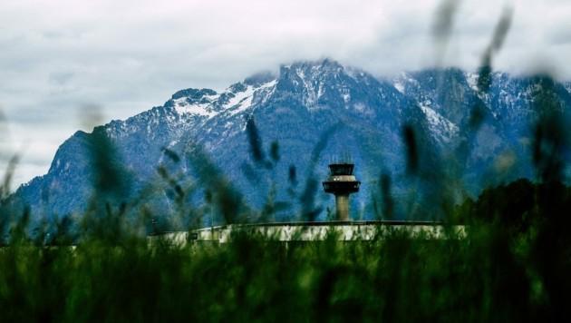 Die trüben Aussichten am Salzburger Flughafen: Wegen der Corona-Krise könnte sich der Umsatz auf 30 Millionen Euro halbieren. (Bild: Tröster Andreas)