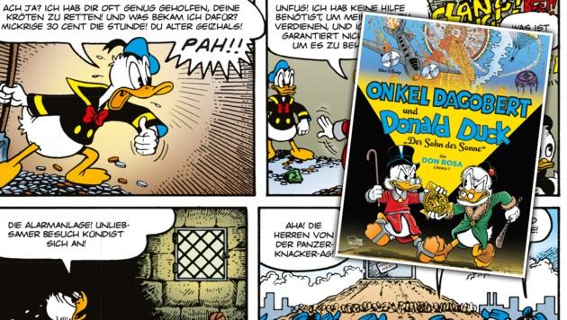 (Bild: © 2020 Disney/ Egmont Comic Collection , bei Text Features © 2020 Don Rosa)