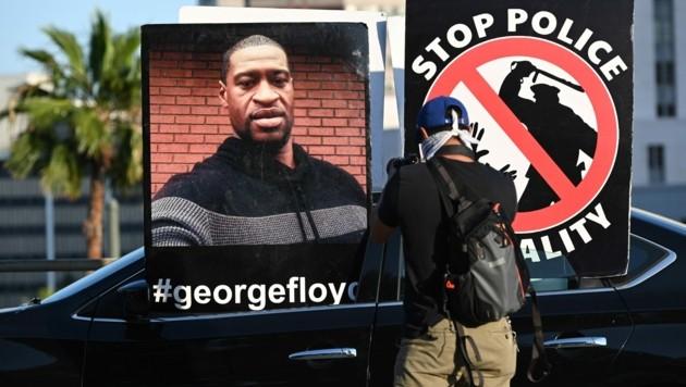 Der Tod Von George Floyd führte in den USA zu Protesten gegen Polizeigewalt gegen Afro-Amerikaner.