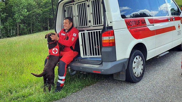 (Bild: Suchhunde Rotes Kreuz OÖ)
