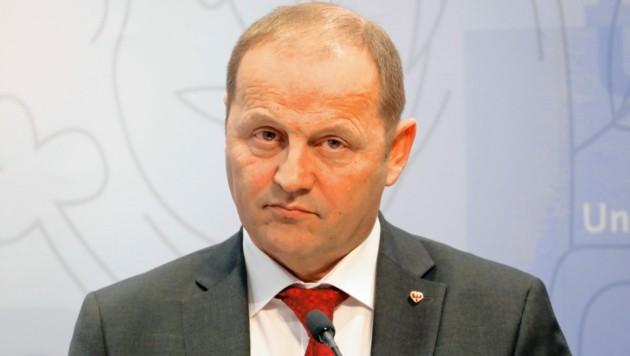 Der Tiroler Landeshauptmannstellvertreter Josef Geisler (ÖVP)