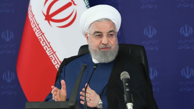 (Bild: AFP/Iranian Presidency)