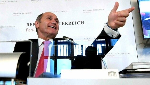 Wolfgang Sobotka (ÖVP) (Bild: APA/HELMUT FOHRINGER)