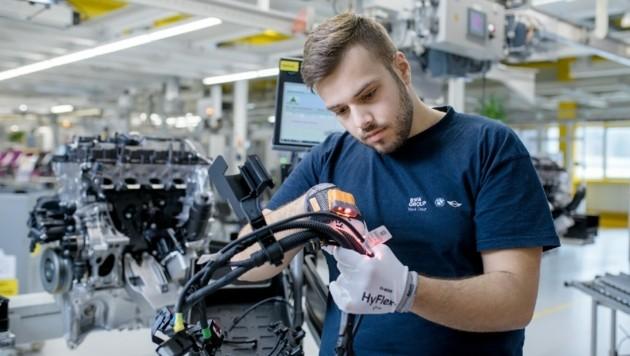 Für fast alle der Mitarbeiter im Werk in Steyr war Kurzarbeit beantragt worden. (Bild: BMW Group)