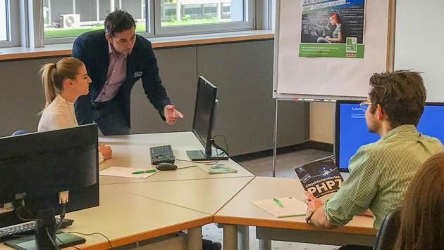 Die Coding-Academy richtet sich an AHS-Oberstufenschüler. (Bild: WIFI OÖ)