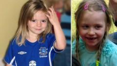 Maddie (l.) war drei, als sie verschwand, Inga (r.) fünf Jahre alt. (Bild: APA/AP, Polizei Stendal / dpa / picturedesk.com)