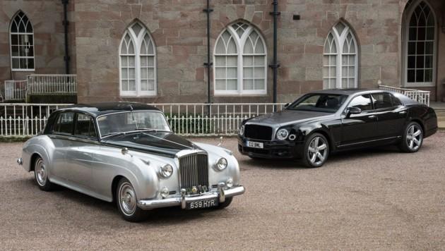 Bentley Mulsanne V8 EOP (Bild: Bentley)