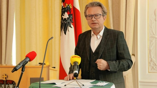Personallandesrat Christopher Drexler. (Bild: Christian Jauschowetz)