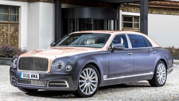 Bentley Mulsanne (Bild: Bentley)