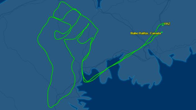 (Bild: Screenshot flightaware.com)