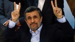 Der ehemalige iranische Präsident Mahmoud Ahmadinejad (Bild: AFP)